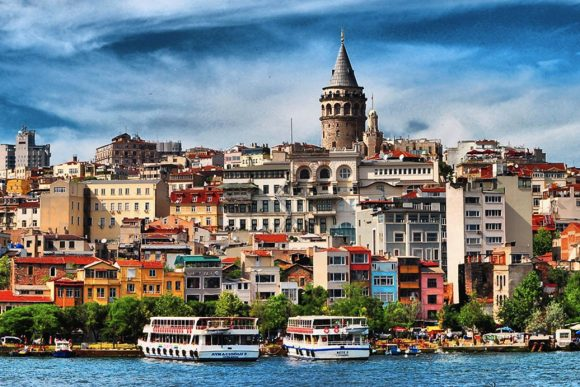 Boat trips on the bosphorus