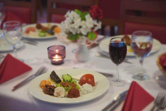 Dinner in Istanbul
