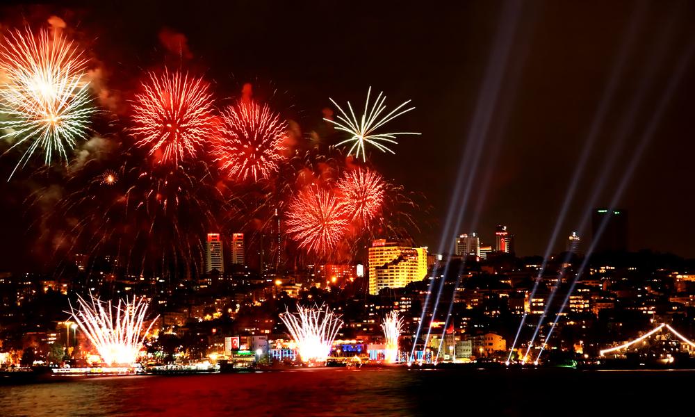 bosphorus new year party