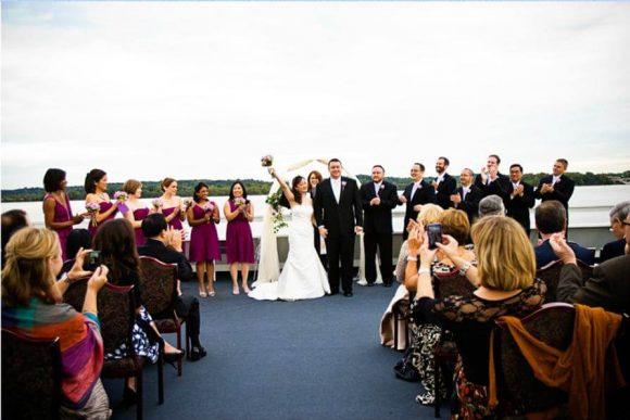 Wedding Party on the Bosphorus / Istanbul / Turkey