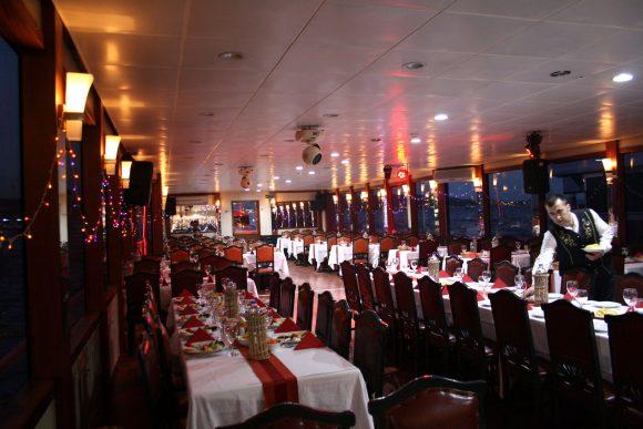 Dinner on the Bosphorus Istanbul