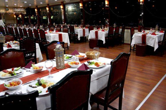 Dinner on the Bosphorus